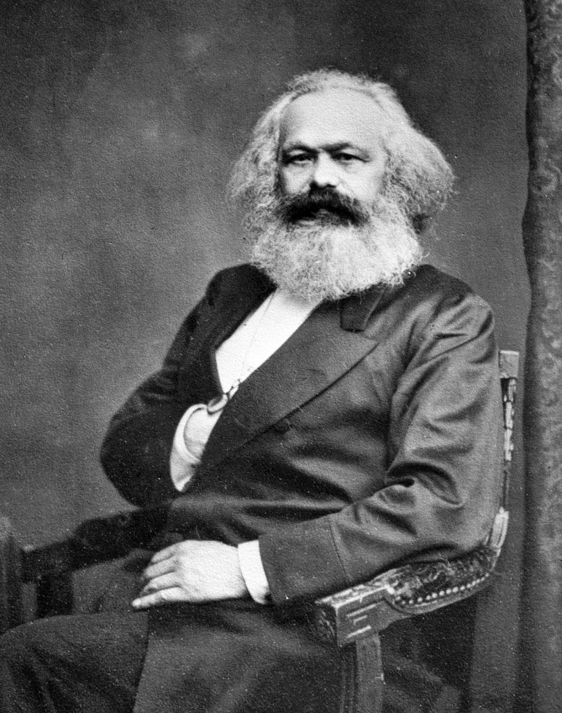 A picture of Karl Marx