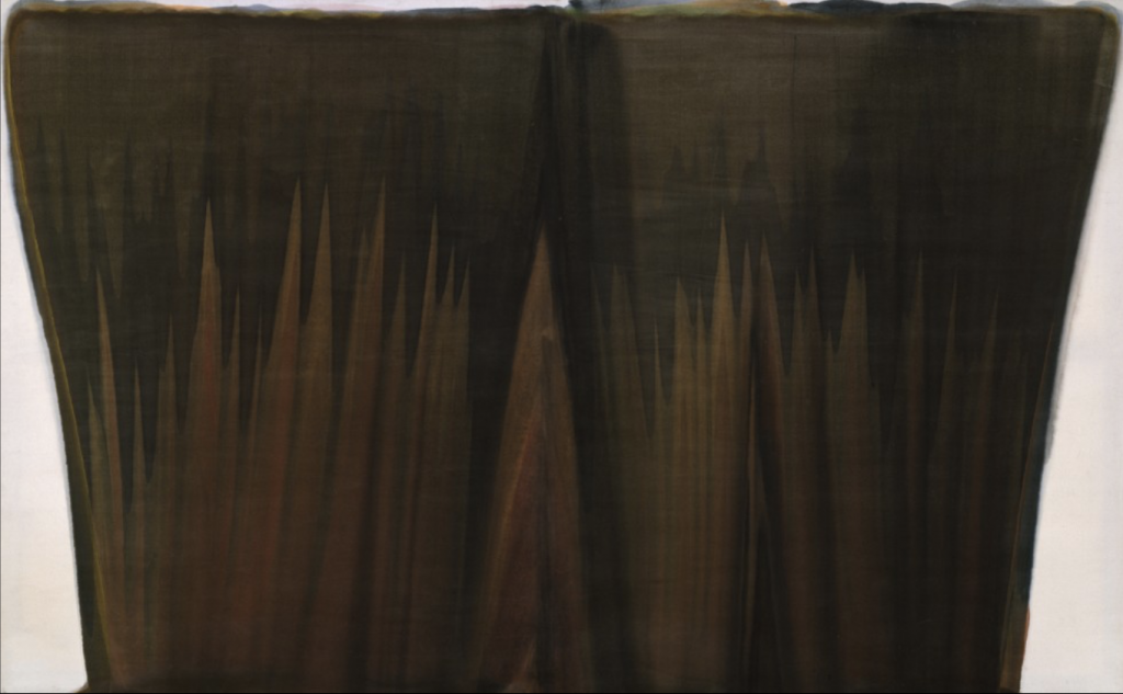 """Loam (1958), part of the """"Veils"""" series"""